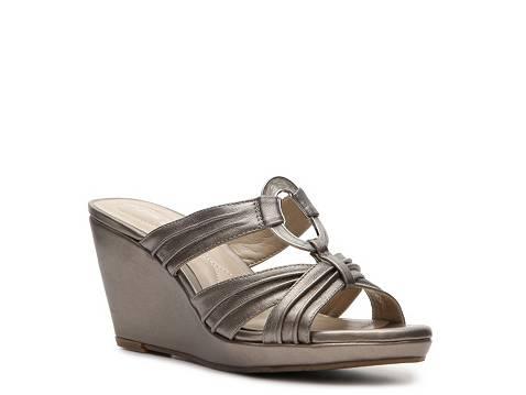 Andrew Geller Frayley Wedge Sandal Dsw