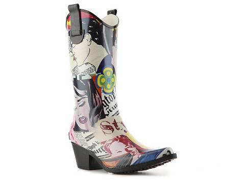 Western Rain Boots Yu Boots