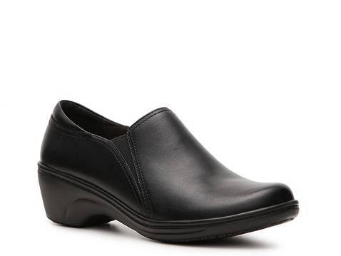 Clarks Nurses Shoes Black
