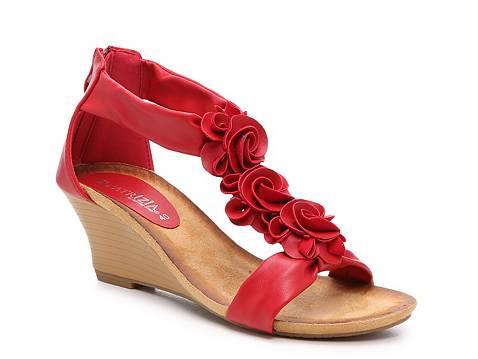 Patrizia By Spring Step Harlequin Wedge Sandal Dsw