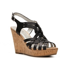 Guess Eppie Wedge Sandal Dsw