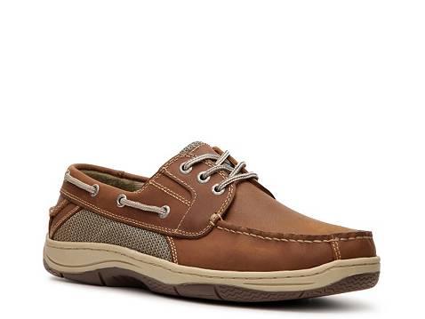 Men S Wide Docker Boat Shoes