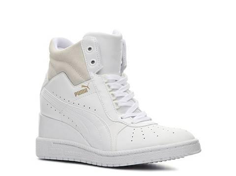 d11e13b89bd puma advantage high-top wedge sneaker - womens - Grandt s Auto Repair