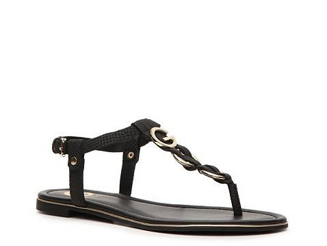 G By Guess Dahlia Flat Sandal Dsw