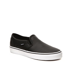 Vans Asher Perforated Slip On Sneaker Womens Dsw