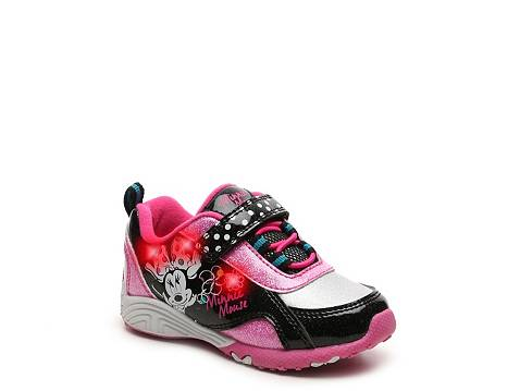 Disney Minnie Mouse Girls Toddler Light Up Sneaker Dsw