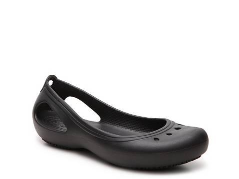 Crocs Kadee Work Flat | DSW