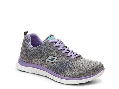 leopard skechers dsw sneaker appeal flex womens tribeca sneakers athletic running