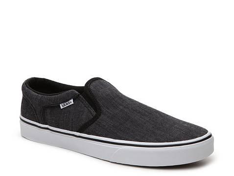 Vans Asher Slip On Sneaker Mens Dsw