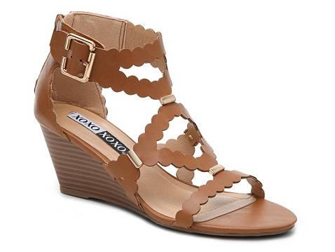 Xoxo Scottie Wedge Sandal Dsw