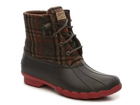 Sperry Top Sider Saltwater Plaid Duck Boot Dsw