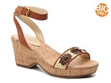 Wedge Sandals Women S Shoes Dsw Com