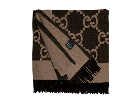 Gucci Luxury Brown Throw Blanket Dsw