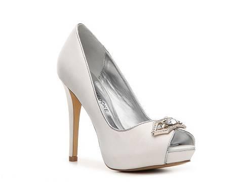 Audrey Brooke Shoes Pump Peep Toe