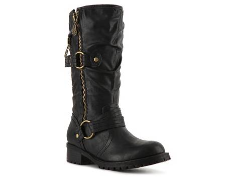 88a89d2a0a9 Dsw Womens Boots. by GUESS Youski Moto Boot
