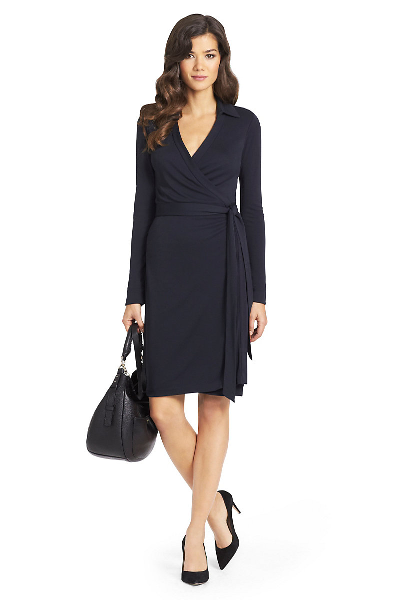 New Jeanne Two Matte Jersey Wrap Dress Landing Pages By Dvf