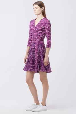 Dvf Designer Wrap Dress Amp Wrap Around Dress Collection Dvf