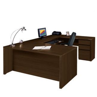 """Reversible Executive U-Desk - 93"""" D x 72"""" W, D35249"""
