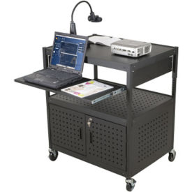 AV Cart with Retractable Shelf, B30396