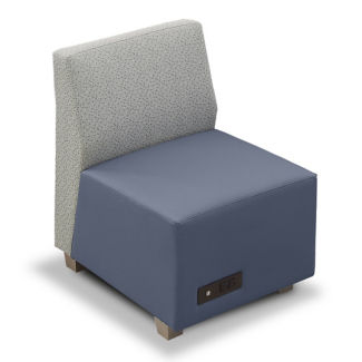 Compass Armless Lounge Chair, C80510