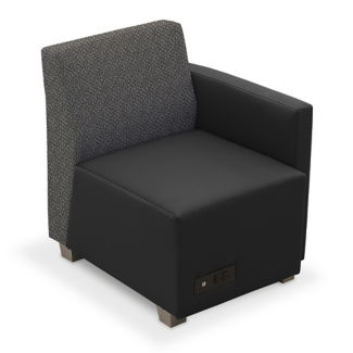 Compass Lounge Chair with Left Arm, C80512