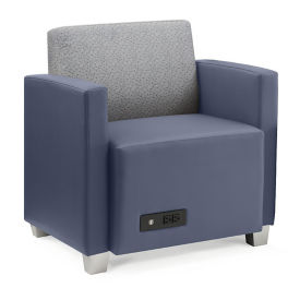 Compass Lounge Chair with Arms, C80511