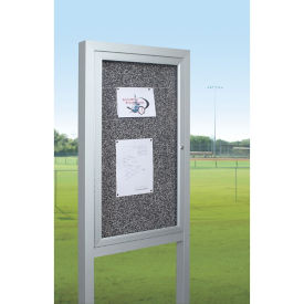 "Outdoor Board with Posts 48""W x 36""H , B21023"