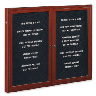 Outdoor Directory Board 48x36H, B20826