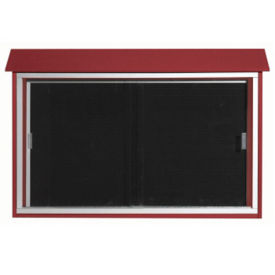 "Sliding Door Outdoor Message Center 30"" x 45"", B23204"
