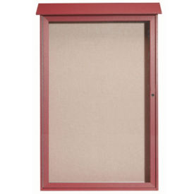 "1 Hinged Door Outdoor Message Center 54"" x 28"", B23208"