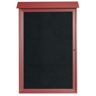 """1 Hinged Door Outdoor Message Center 48"""" x 32"""", B23210"""