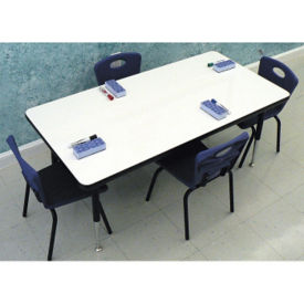 "60""W x 30""D Markerboard Table, A10980"