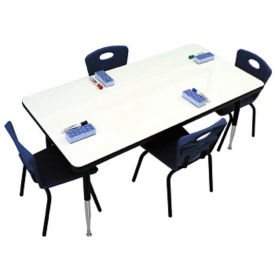 "Height Adjustable Whiteboard Table - 36""W, A11215"