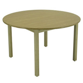 "42"" Round Library Table, T11215"