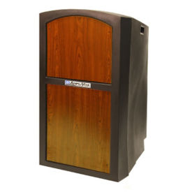 Full Height Non Sound Polyethylene Lectern, M10212