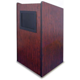 Mobile Lectern with LCD Screen, M10399