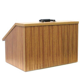 Non-Sound EZ Speak Folding Tabletop Lectern, M13102