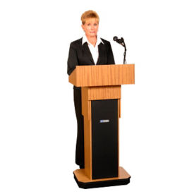 Executive Adjustable Height Lectern, M13108