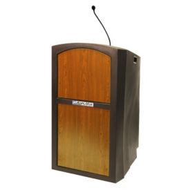 Pinnacle Sound Polyethylene Lectern, M13172
