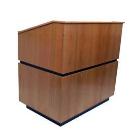 Solid Wood Non-Sound Lectern, M13178