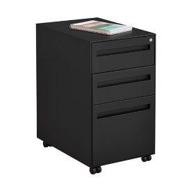 "Three Drawer Mobile Pedestal - 14.7""W, L40401"