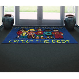 High Definition Custom Logo Mat - 4' x 6', W60801