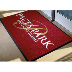 "WaterHog Custom Logo Floor Mat 35"" x 45"" , W60817"