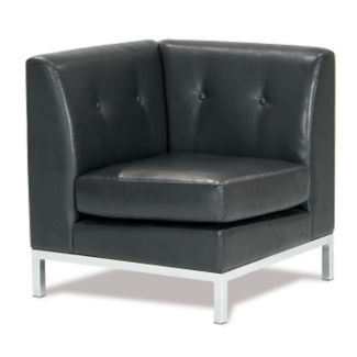 Faux Leather Corner Chair, W60439