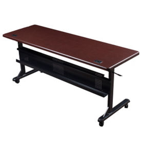 "60""W x 24""D Mobile Flipper Table, T11237"