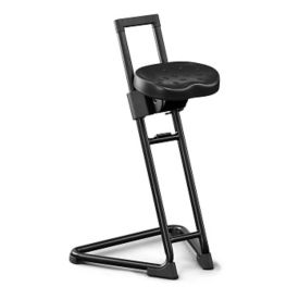 Adjustable Height Stool with Molded Contour Seat, C70463