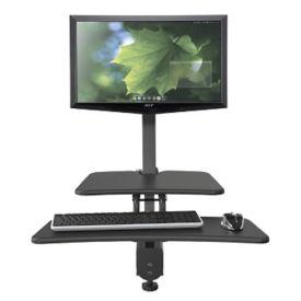 Single Monitor Adjustable Height Station, E10245