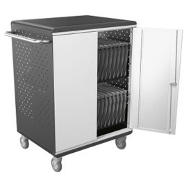 Mobile Charging Cart for 32 Extra Large Tablets, M16332