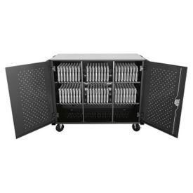 Lockable High Capacity Charging Cart - Assembled, M16334