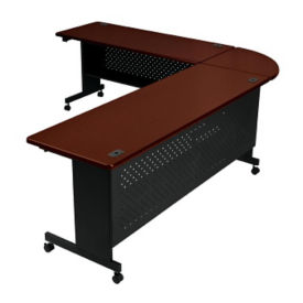 "Agility Table Round Corner Connector 24""W, T11328"